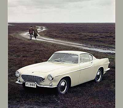 December 1960. Vovo P1800. Falsterbonäset