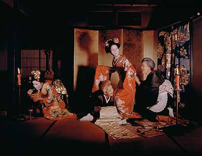 Geisha, 2002Photographie, 180 x 240cmCourtesy Miwa Yanagi © Miwa Yanagi / Deutsche Guggenheim Berlin
