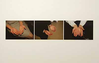 Sophie Calle, Unfinished, The Hands that Touched the Money, (Detail), 2003, Installation im Centre Pompidou, Paris, 2003-2004, Foto Jean-Claude Planchet, Centre Pompidou