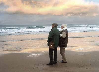 Omaha Beach, 2003 (video still)