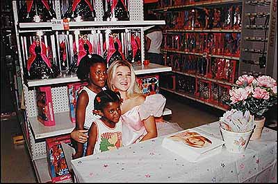 The Real Live Barbie at Target (1998)