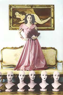 Youssef Nabil Lara Baladi, Cairo 200235.7 x 24.5cm hand-coloured silver gelatin printedition 4/25 © 2003 Michael Stevenson