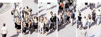 Peter Hendricks, Pausenhof der Edith-Stein-Schule im Juni 2003