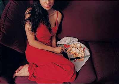 Orange peels . Color Print 2004