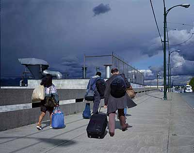 © Jeff Wall . Untitled (Overpass) 2001