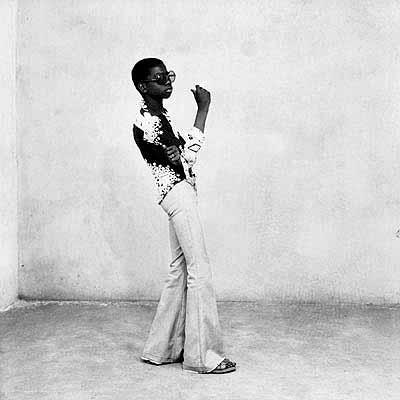 Ye-yé posing, 1963© Malick SidibéExhibition from The Hasselblad Center, Gotemburg, Sweden