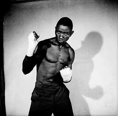 Boxer, 1966 © Malick SidibéExhibition from The Hasselblad Center, Gotemburg, Sweden