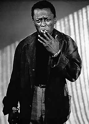 Miles Davis, Los Angeles, 1955 © William Claxton