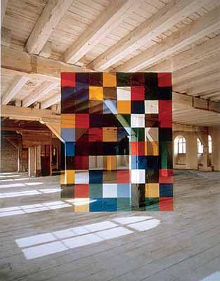 Georges Rousse . Metz, 1994.© Georges Rousse / Transphotographiques 2004 - Lille 2004 - M.E.P Paris.