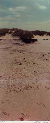 VALIE EXPORT, Route A, Konzeptuelle Fotografie, Belgien 1972, 1972, VBK Wien, 2004