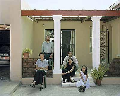 David GoldblattThe Le Fleur Family, 2002Dorothy Manuel, Andrew A.S. Le Fleur, Craig, Audrey Le Fleur, Charlotte Le FleurColor photograph