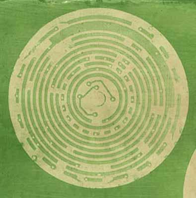 Gábor Kerekes, Electro labyrinth, 2000, pigmented print,10 x 10 cm, Courtesy Van Zoetendaal Amsterdam