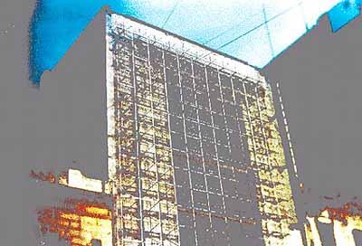 Ignacio Iasparra . Foto sin titulo de la serie 'Edificios . 37 x 52 cm