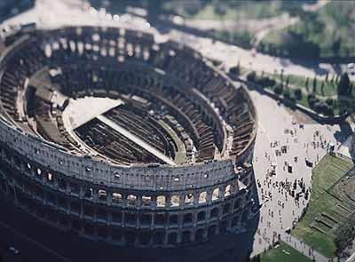 © Olivo Barbieri Site spécifique Roma