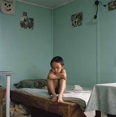 Tumas, 2002 from series Inughuit C-print on aluminium 80 x 74 cm Edition of 7