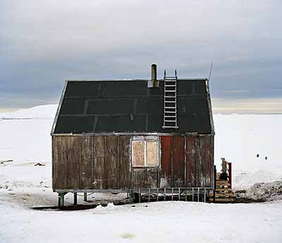 House, 2002 from series Inughuit C-print on aluminium 60 x 70 cm Edition of 7