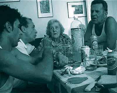 Adrian PaciSlowly, 2004Film on DVD, Length 4'Ed. 5 + 2 A.P. Courtesy galleria francesca kaufmann, Milano