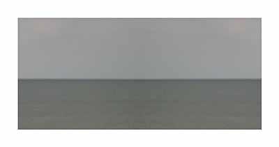 Meer 6960 / Sea 6960C-Print auf Aludibond, 100 x 190 cm, Ed. 3+1 AP2004