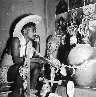 Voudou, Port-au-Prince, 1948. Foto: Pierre Verger. © Stiftung Pierre Verger