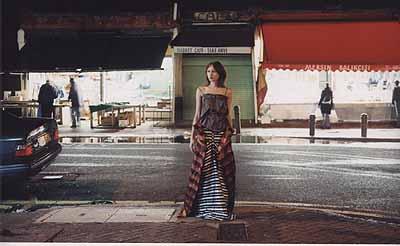 Foto aus der Vivienne Westwood Kampagne 2004C-Print150 x 100 cm