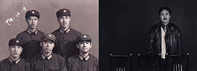 Hai BoThey No. 3, 1998-2000, color photographs mountedon canvas, 30 3/4
