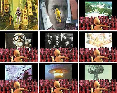 Zhou XiaohuBeautiful Cloud, 2001, digital video animation, 4'45