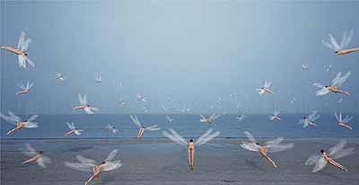 Chi PengMirage, 2005digital print, 127 x 240 cm