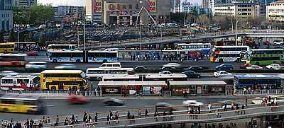 Miao XiaochunOrbit, 2005digital photo, 217 x 480cm