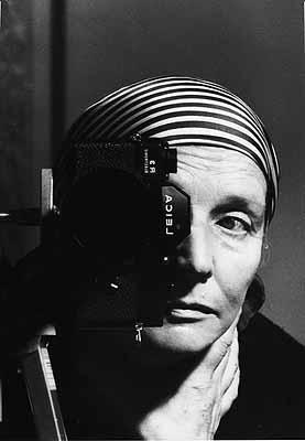 Selbstporträt von Leonore Mau, 70er Jahre . Photo: Leonore Mau