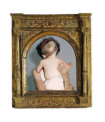 @ Diana Scherer, Fragment, 2005. Cadre italien de la Renaissance