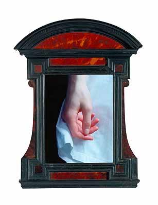 @ Carla van de Puttelaar, untitled 2000 Tabernacle frame, Italy 17th century