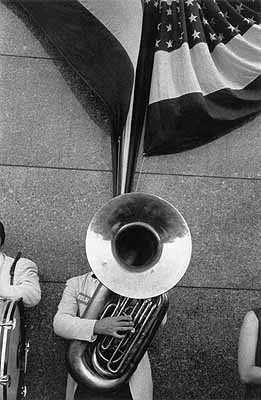 Robert FrankPolitical Rally – Chicago, 1956© Robert Frank, Courtesy Pace/MacGill Gallery, New York