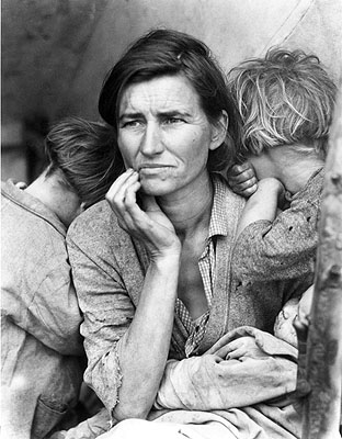 Dorothea Lange Migrant Mother, 1936