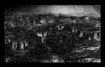 Ryuta Amae: Birthplace, 2005, Digital Drawing, 125 x 207 cm