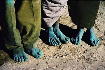 Yves Gellie, Raqqa, Syrie, 2001: la guerre de l'eau, 2001