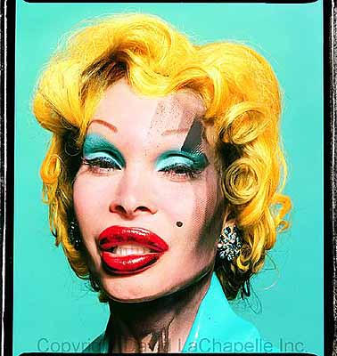 David laChapelleAmanda as Marilyn, 2003Digital c print on fuji paper40 x 30