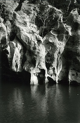 Série Passeur solitaire, 1990-1995, photographie noir et blanc