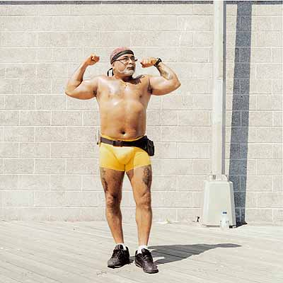 Peter Granser: » Bodybuilder« aus »Coney Island«, 2003
