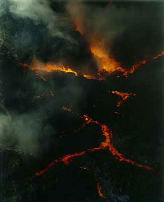 Sonja Braas, Lava flow, 2005, 185 x 150 cm, C-Print, Edition 8 + 2 AP