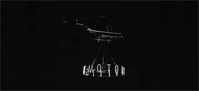 Fotografisch dargestellte Performance Hellmachine