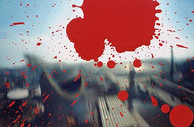 Shomei Tomatsu Japan World Exposition, Osaka, 1970, printed 2003. Thermal dye transfer print, 26,4 x 39,4 cm. Private collection © Shomei Tomatsu