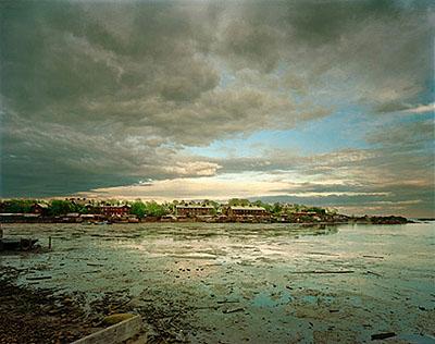 Fishing Village, White Sea, 2002 68,4 x 87 cm / 76,2 x 101,6 cm, C-Print, Edition 10