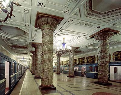 Avtovo Metro Station, St. Petersburg, Russia, 2002 68,5 x 87,5 cm / 76,2 x 101,6 cm, C-Print, Edition 10