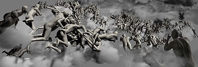 Miao Xiaochun: The Last Judgment in CyBerspace: The Downward View