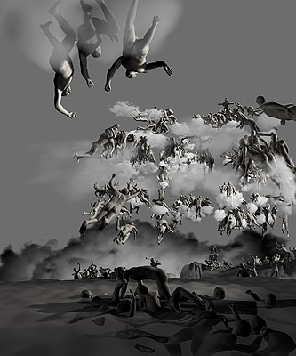 Miao Xiaochun: The Last Judgment in CyBerspace: The rear View