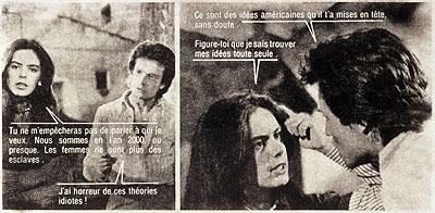 Astrid Klein Ohne Titel , 1979 Foto-Collage auf Fotopapier 100 x 220 cm Edition 1/2