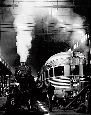 Andreas Feininger Dearborn Station, Chicago, 1941 Photo by Andreas Feininger © AndreasFeiningerArchive.com