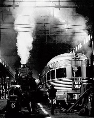 Andreas Feininger Dearborn Station, Chicago, 1941 Photo by Andreas Feininger © AndreasFeiningerArchive.com