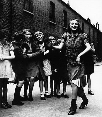 Bill Brandt, East End Girl Dancing the Lambeth Walk, 1939, gelatin silver print. © Bill Brandt Archive LTD.