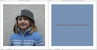 Funkemariechen - WE, 2006 Glas 2 Bilder a 40 x 40 cm Edition 6 + 1 AP